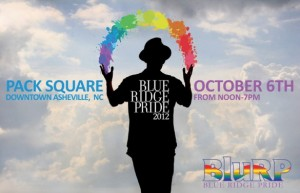 Blue Ridge Pride 2012: October 6 in Pack Square