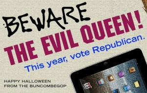 Holly Jones response to GOP 'evil queen' billboard