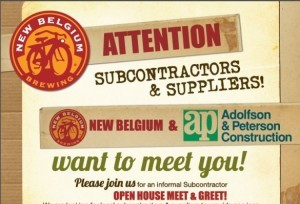 Interested in being a subcontractor or supplier for New Belgium?