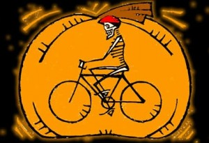 Asheville on Bikes Pumpkin Pedaller costumed bike ride is Saturday