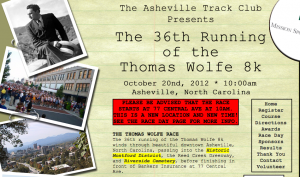 Zombies will haunt Thomas Wolfe 8k runners on Saturday