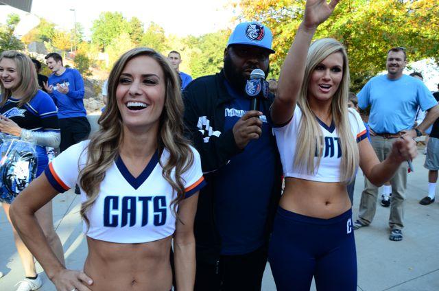 Photos: Charlotte Bobcats fanfest at UNC Asheville