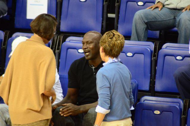 Photos: Charlotte Bobcats practice, Michael Jordan watches