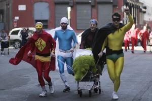 Outdoor fun coming soon: 2012 Asheville Idiotarod Shopping Cart Race