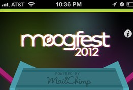 2012 Moogfest app has arrived