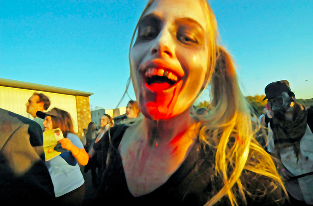 Another Asheville festival dead body: The Ashtoberfest zombie walk