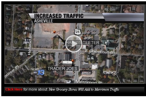 New turning lane coming to Merrimon Avenue in North Asheville