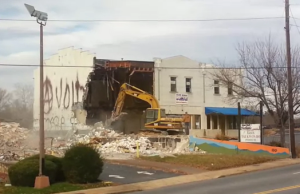 Video: Goodbye New York Fashions Building