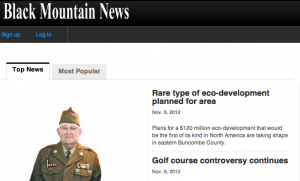 Black Mountain News: $120 million eco-development planned for Black Mountain area