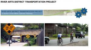Asheville River Arts District road improvement plan up for discussion Dec. 6