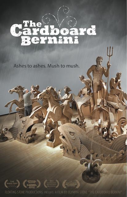 Today: Cinema Society returns with 'Cardboard Bernini'