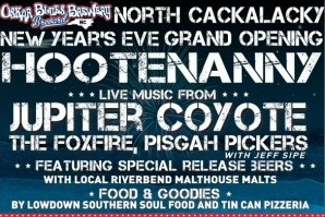 CONTEST OVER Win two tickets NOW to Oskar Blues' NYE Hootenanny in Brevard
