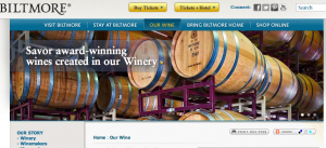 Wine Mule blog: Asheville wine tastings include $65 dinner and tour of Biltmore winery