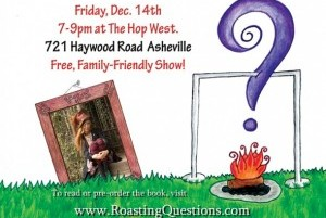Popular poet Barbie Angell releases 'Roasting Questions' Friday at the Hop West
