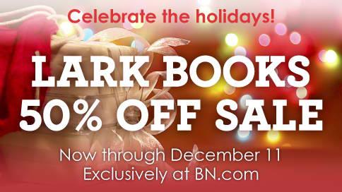 Lark Books offering 50 percent off hundreds of books