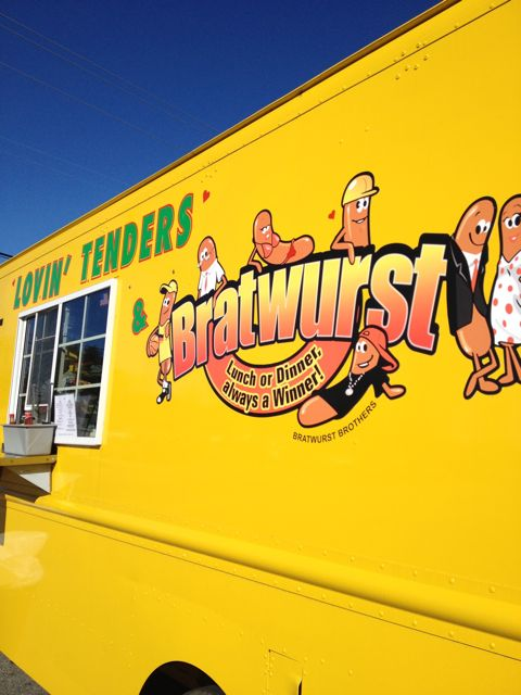 UPDATED with menu: New Asheville food truck, Lovin' Tenders, hits the streets