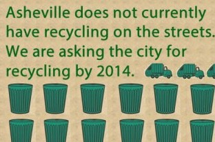 New Facebook page urges city council to start recycling program for downtown trash