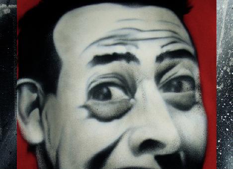Asheville street artist Gus Cutty's show starts tonight at PUSH Gallery