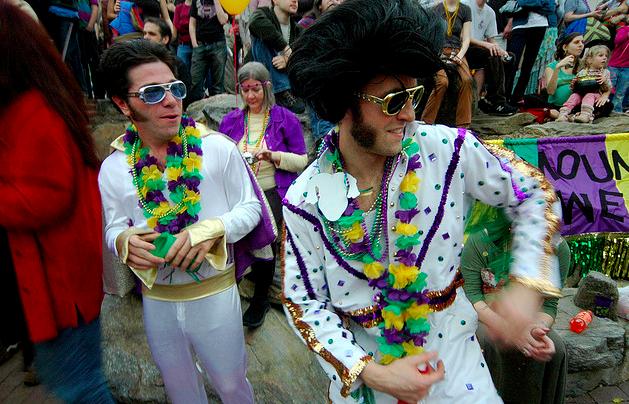 Asheville Mardi Gras Elvis
