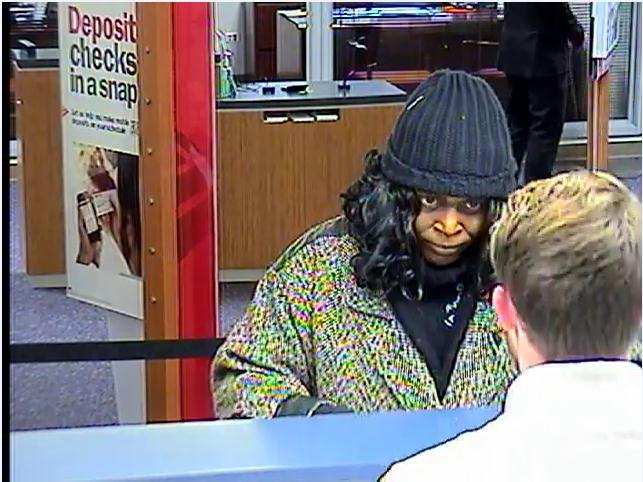 bank robbery suspect jan 2013