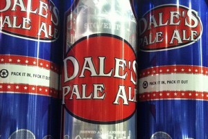 Asheville release party Friday for Dale's Pale Ale in stovepipe cans