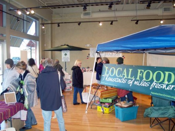 ASAP: Asheville farmer's markets move indoors for the winter