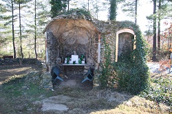 Time running out to save Our Lady of Lourdes grotto on campus of A-B Tech