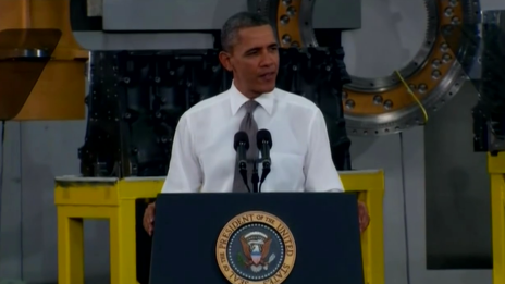 Politico video: President Obama loves Asheville people, Asheville barbecue