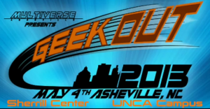 GeekOut 2013 set for May at UNC Asheville's Sherrill Center