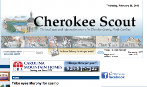 Wanted: One Cherokee Scout editor who toes the line