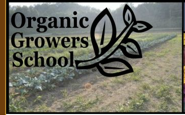 2013 Organic Growers School is this weekend at UNC Asheville