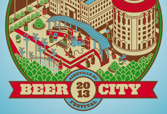 Asheville's Beer City Festival 2013 poster released