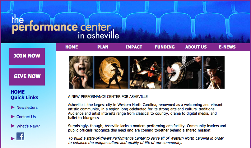 Asheville Area Center for the Performing Arts scales back fundraising effort