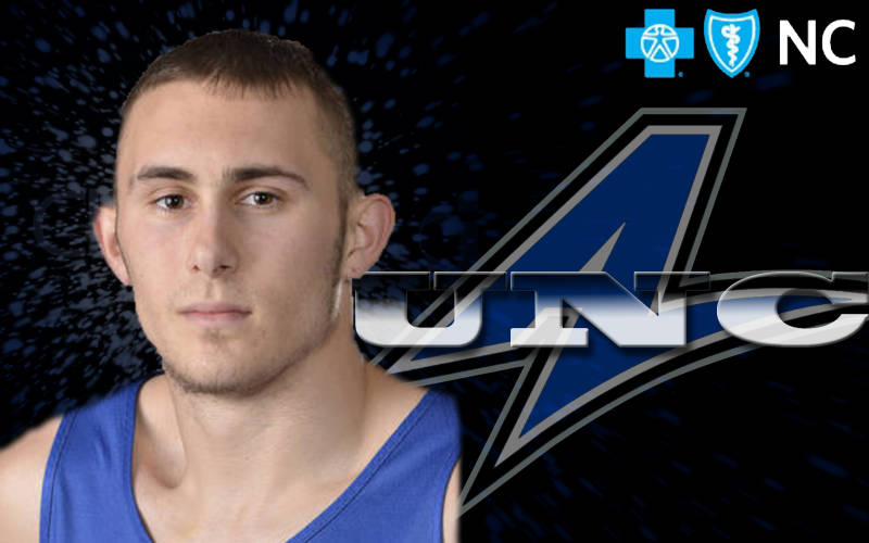 Charlotte Observer: UNCA's Keith Hornsby rocks on the foul line