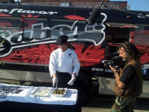 Travel Channel's 'Illegal Eater' films at Asheville's food truck lot