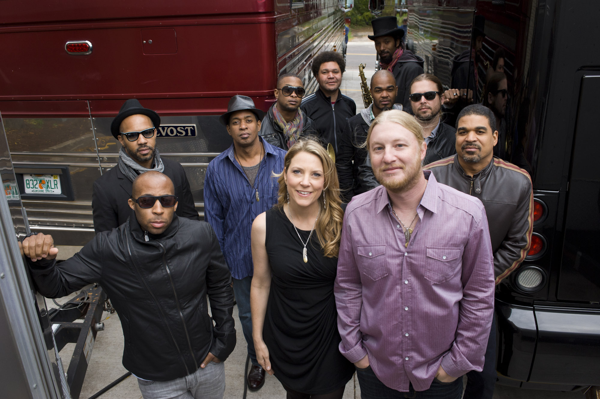 Tedeschi Trucks Band in Asheville on Thursday