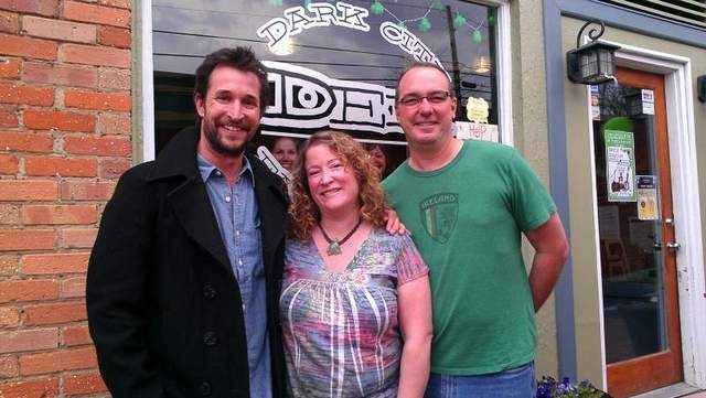 Black Mountain News/Noah Wyle in downtown Black Mountain