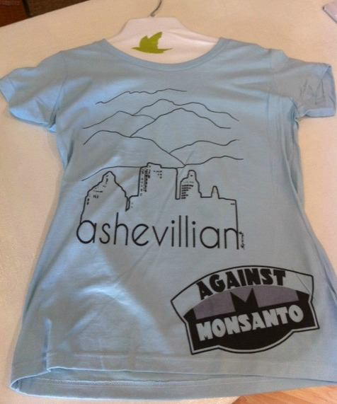 March against monsanto planned in asheville on may 25 for Asheville t shirt company