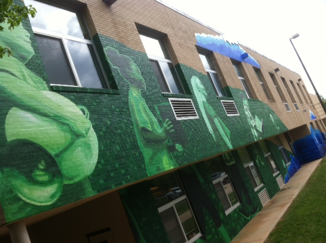 Hall Fletcher Elementary School mural to be dedicated June 4