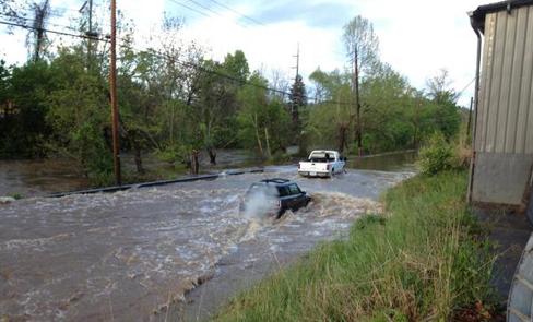Storify: Weekend storm floods waterways, triggers mudslides