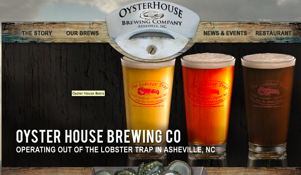 Oyster House Brewing in West Asheville set to open first week in June