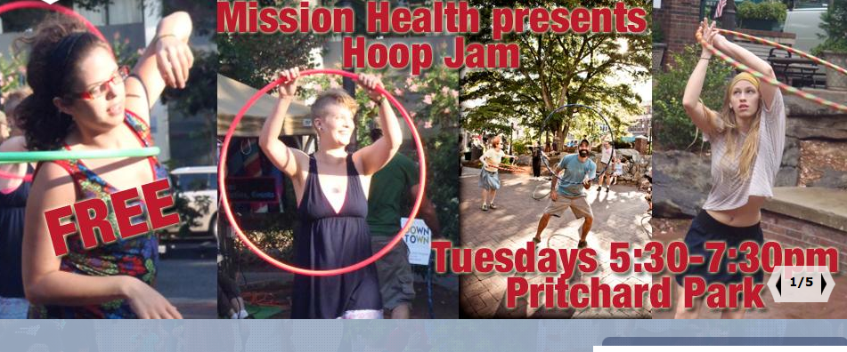 Hoop Jam cranks up tonight in Pritchard Park in downtown Asheville