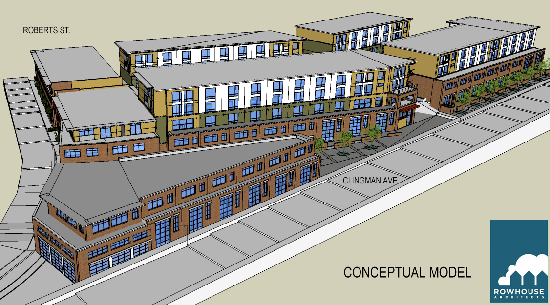 CONFIRMED: New mixed-use building, parking deck planned for River Arts District