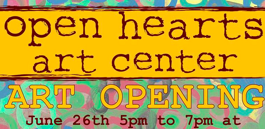 Open Hearts Art Center to host benefit June 26