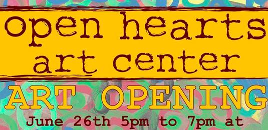 Open Hearts Art Center to host benefit June 26