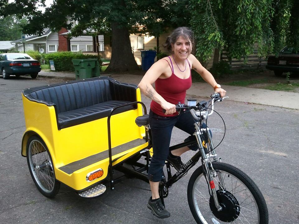Asheville Bike Taxi set to hit the streets of Asheville