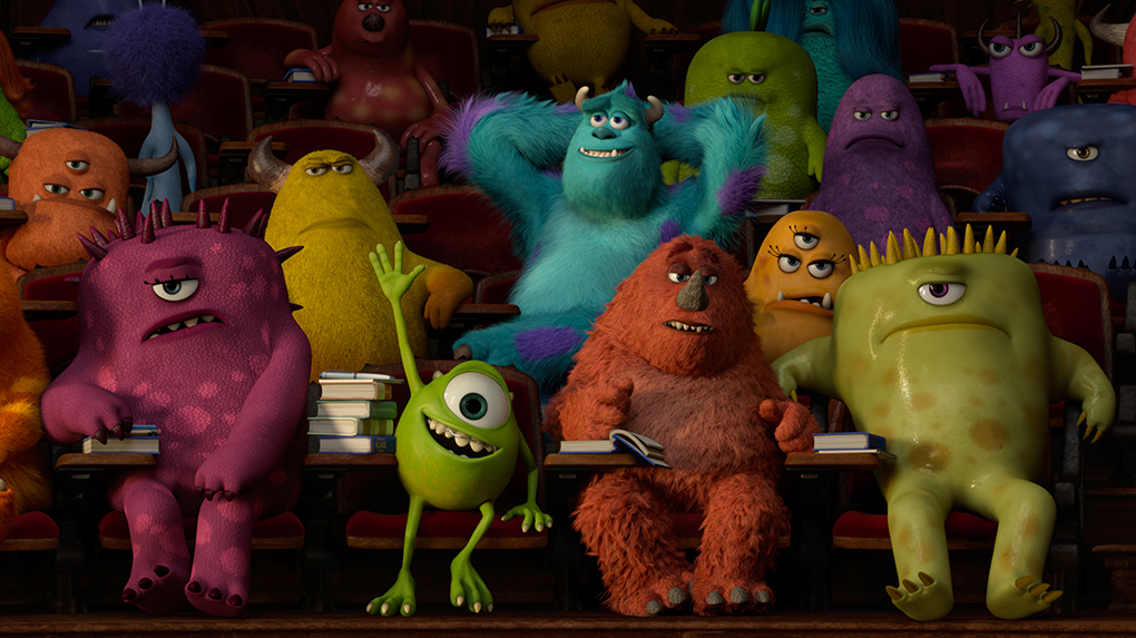 Ashvegas movie review monsters university ashvegas walt disney studios voltagebd Image collections