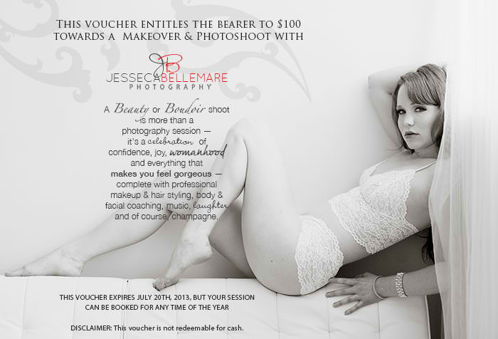 Special offer: Jesseca Bellemare Photography offers $100 off photo shoot