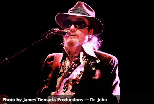 Dr. John, Vieux Farka Toure, Acoustic Syndicate, more at fall LEAF in Black Mountain