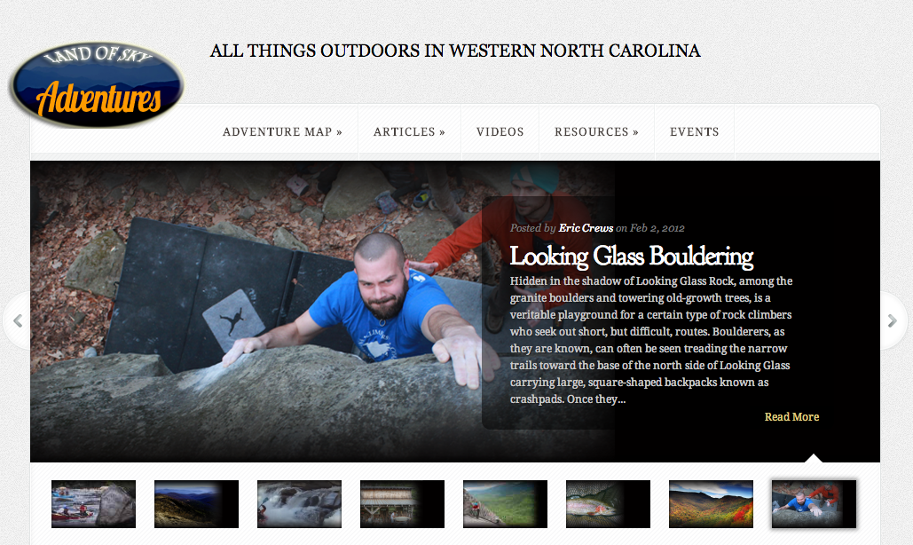 Land of Sky Adventures, new online guide to outdoors in WNC, set for August launch
